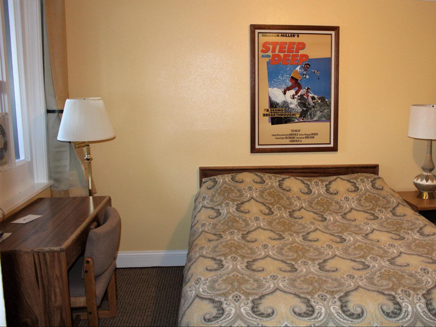 One Queen separate bedroom