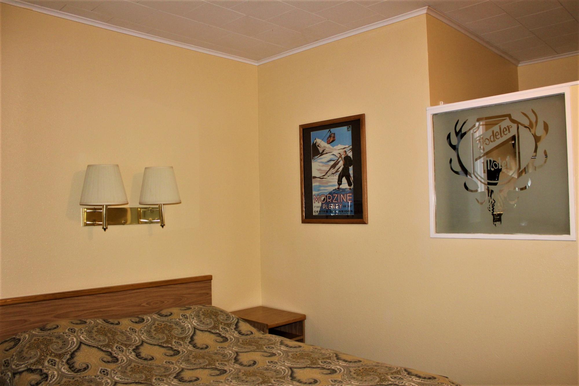 Single Bed - Back Room